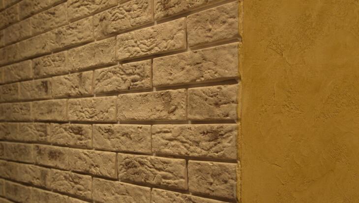 Создаем имитацию кирпичной стены своими руками