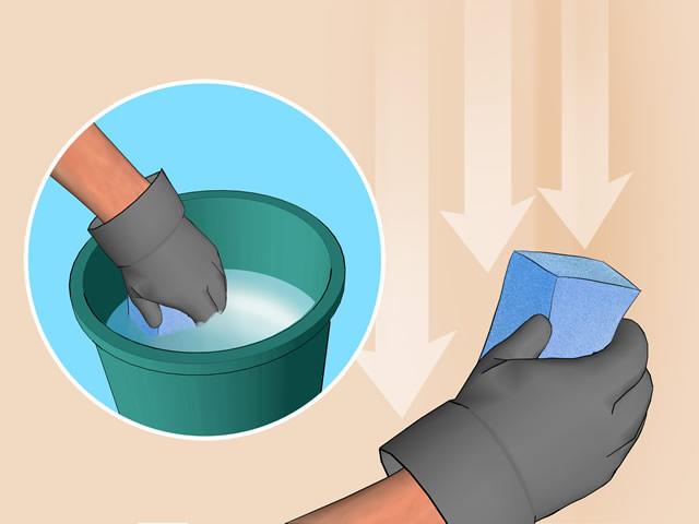 Способы снятия побелки со стен в квартире