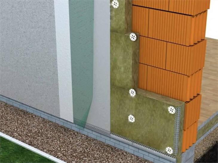 Способы утепления фасада дома под штукатурку и создание вентилируемых систем