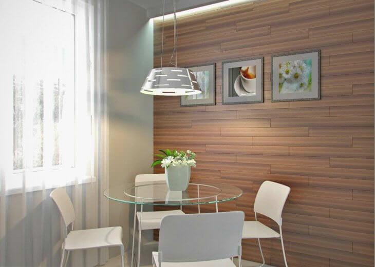 Стены на кухне, чем отделать стильно и практично