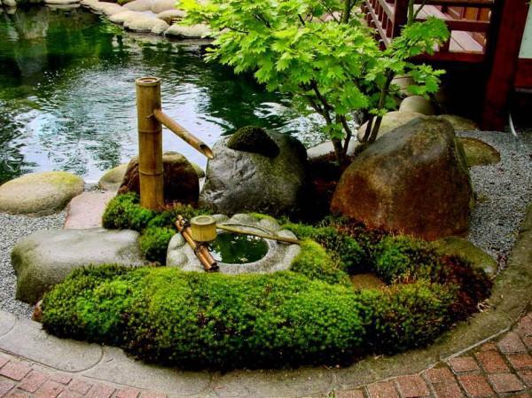 Строим фонтан на даче своими руками