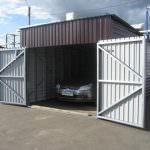 Будуємо гараж своїми руками з профнастилу: покроковий процес будівництва
