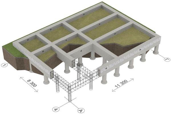 Строим свайно-ленточный фундамент своими руками