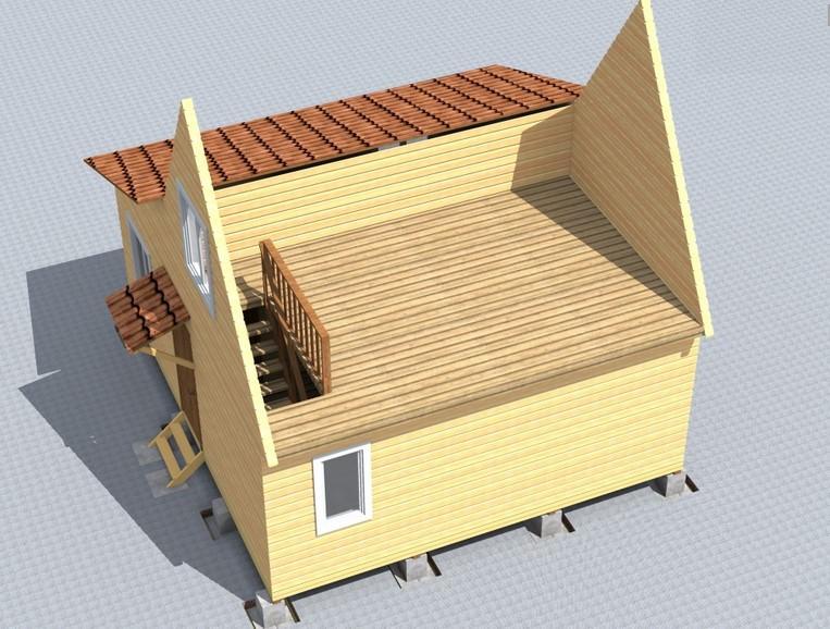Строительство мансарды своими руками: как сделать постройку тёплой и светлой