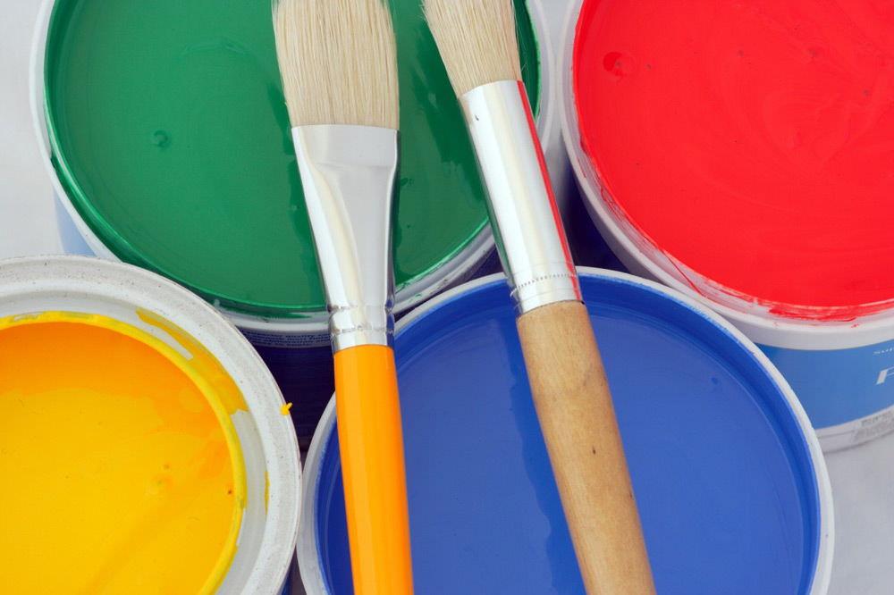 Технология покраски кафельной плитки