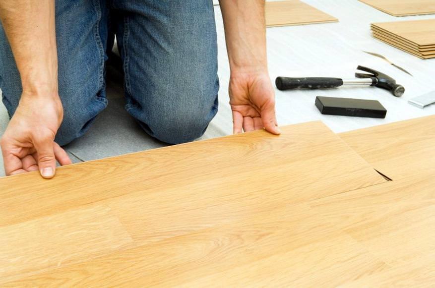 Технология укладки ламината на бетонный пол своими руками
