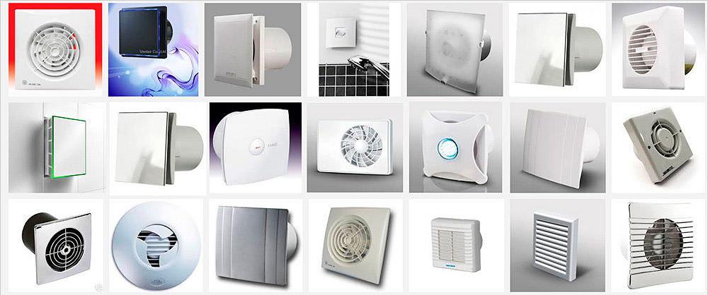Технология установки вентилятора в ванной комнате