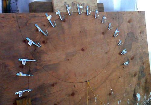 Трубогиб для профильной трубы своими руками
