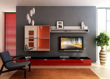 Тумба под ТВ: современные идеи, длинные, фото