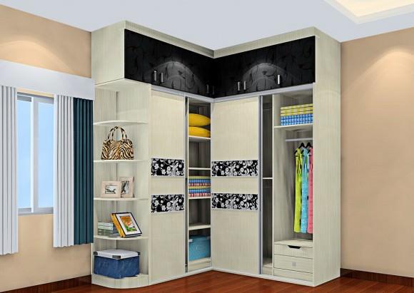 Угловой шкаф – практичный и красивый гардероб для вашей спальни