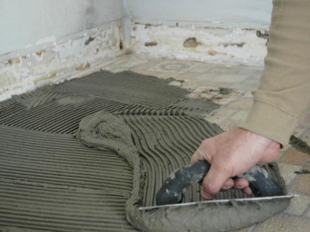 Укладка новой плитки поверх старой