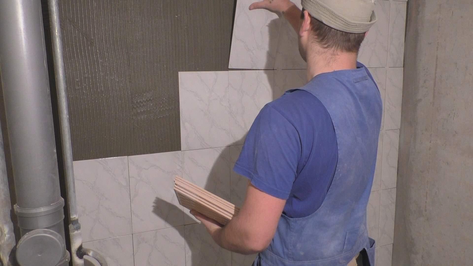 Укладка плитки в ванной — дело тонкое и ответственное
