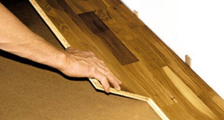 Укладываем паркетную доску на бетонный пол
