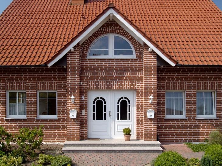 Украсим фасад с помощью облицовочного кирпича