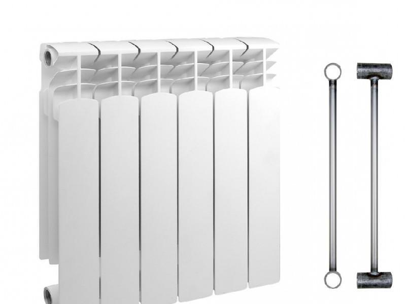 Устанавливаем биметаллические радиаторы отопления своими руками