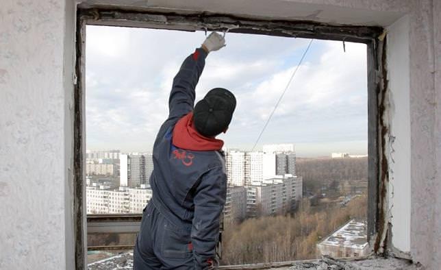 Устанавливаем окна пвх в квартире своими руками