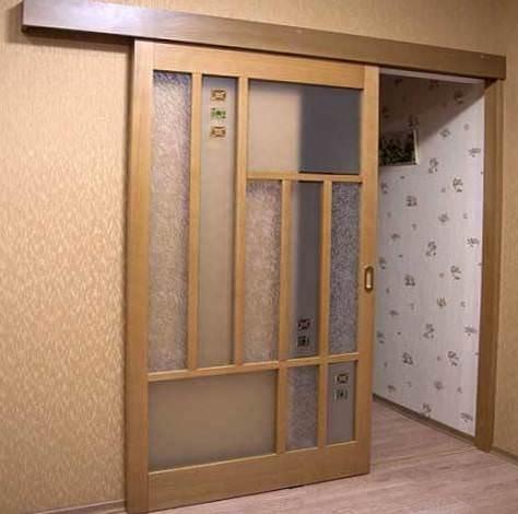 Установка раздвижных межкомнатных дверей своими руками