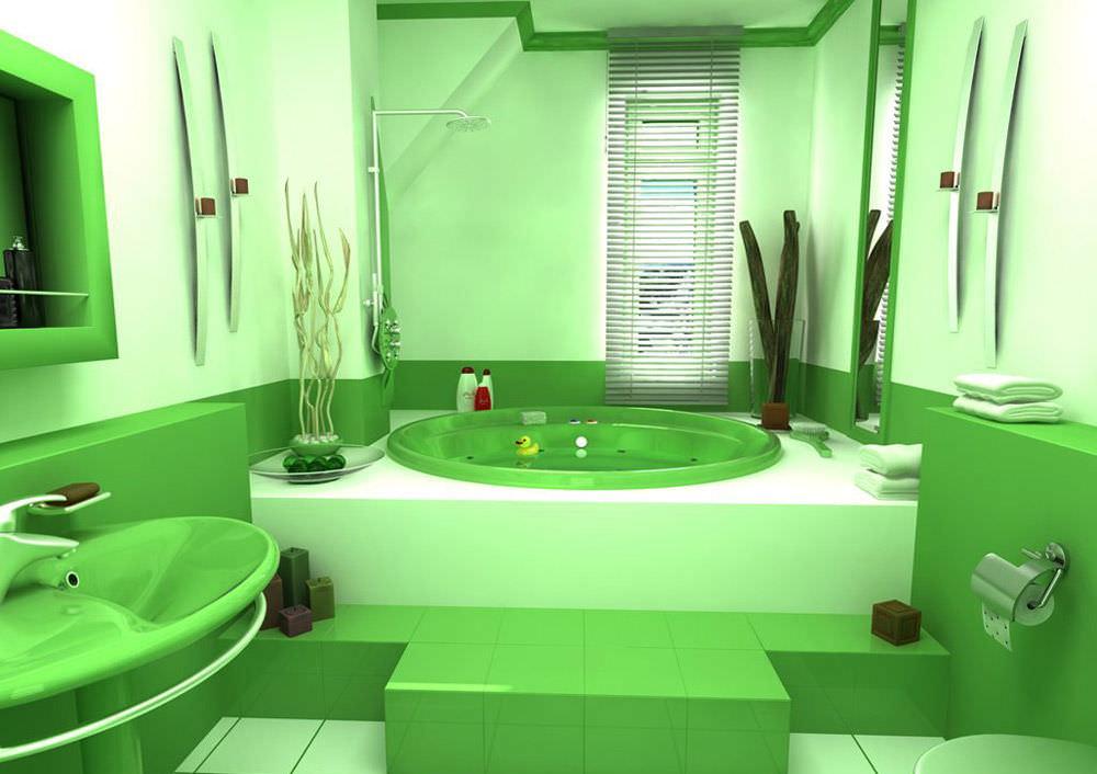 В каком цвете сделать ванную комнату