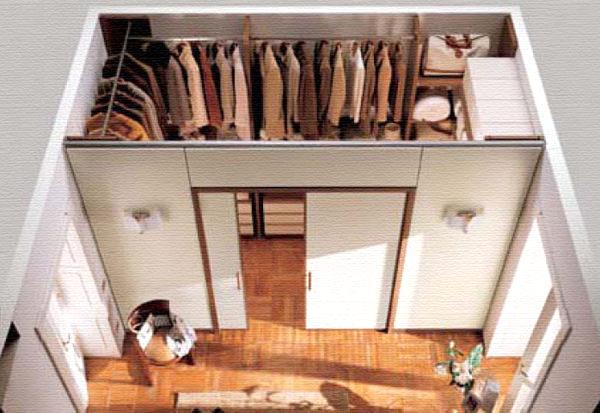 Варианты устройства гардеробной комнаты своими руками из кладовки или гипсокартона