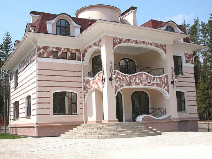 Великолепие фасады в стиле Барокко