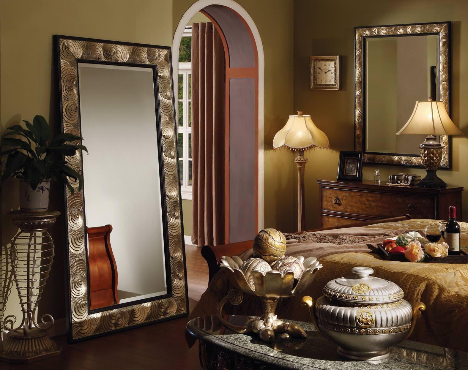 Вешаем зеркало на стену без крепления