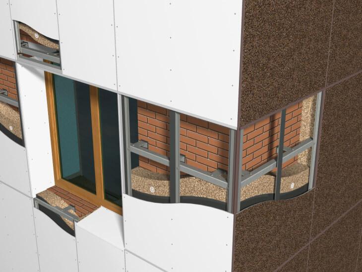 Виды материалов для отделки фасадов