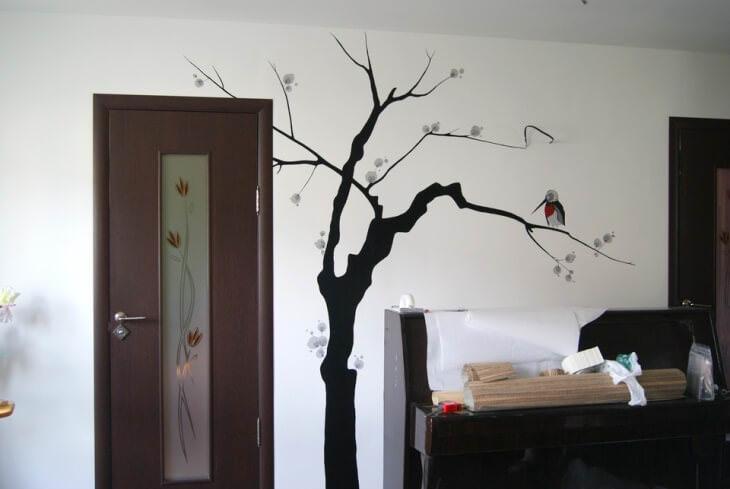 Выбираем лучший способ, как сделать картину своими руками на стену