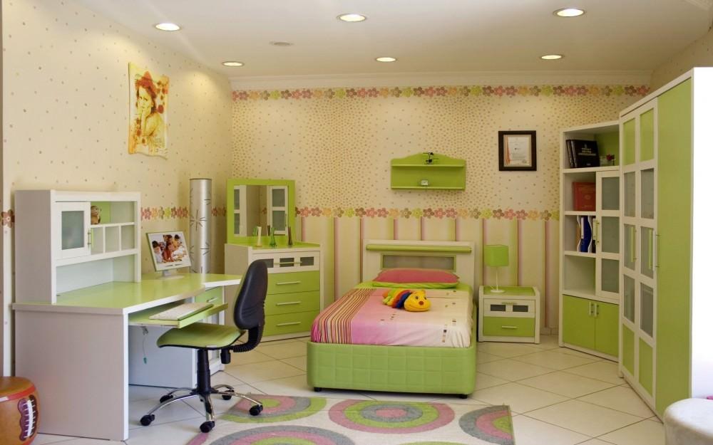 Выбираем обои для детской комнаты девочки
