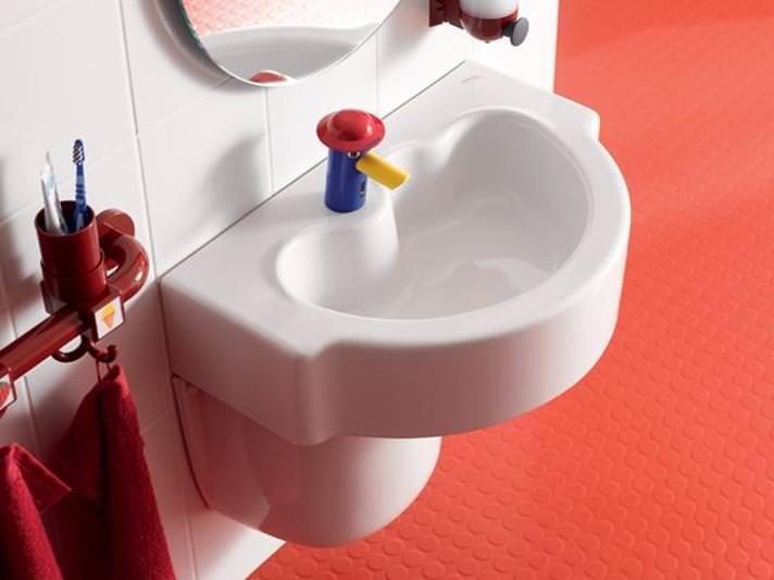 Выбираем правильную высоту установки раковины в ванной