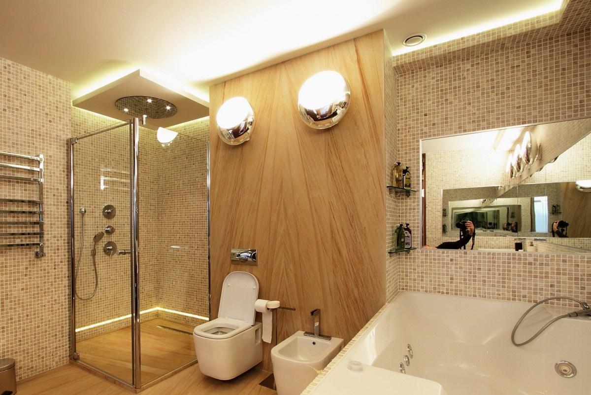 Выбираем светодиодные светильники для ванной комнаты