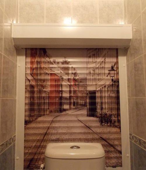Выбираем жалюзи в туалет и ванную комнату
