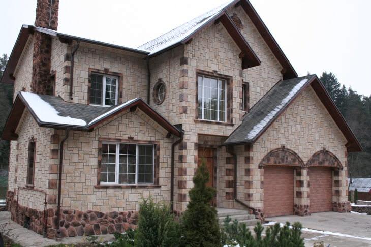 Защита и отделка фасадов коттеджей и частных домов