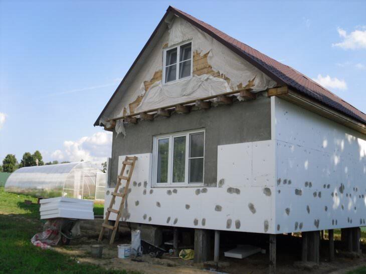 Защита, отделка и утепление фасада дома современными материалами
