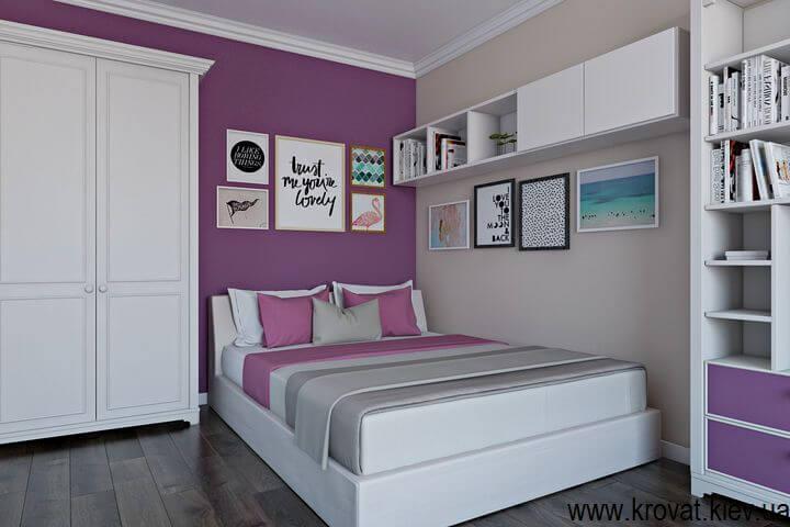 підліткове ліжко для дівчинки