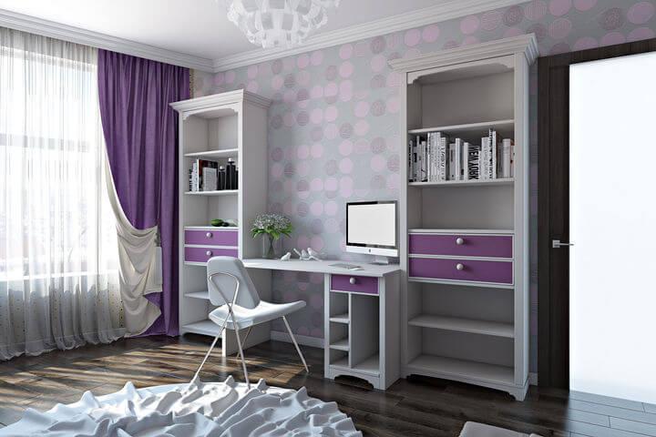 дизайн спальні для дівчинки підлітка